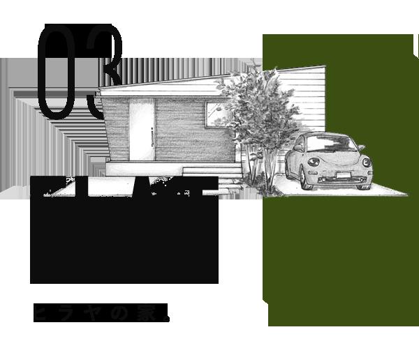 FLAT-ヒラヤの家-